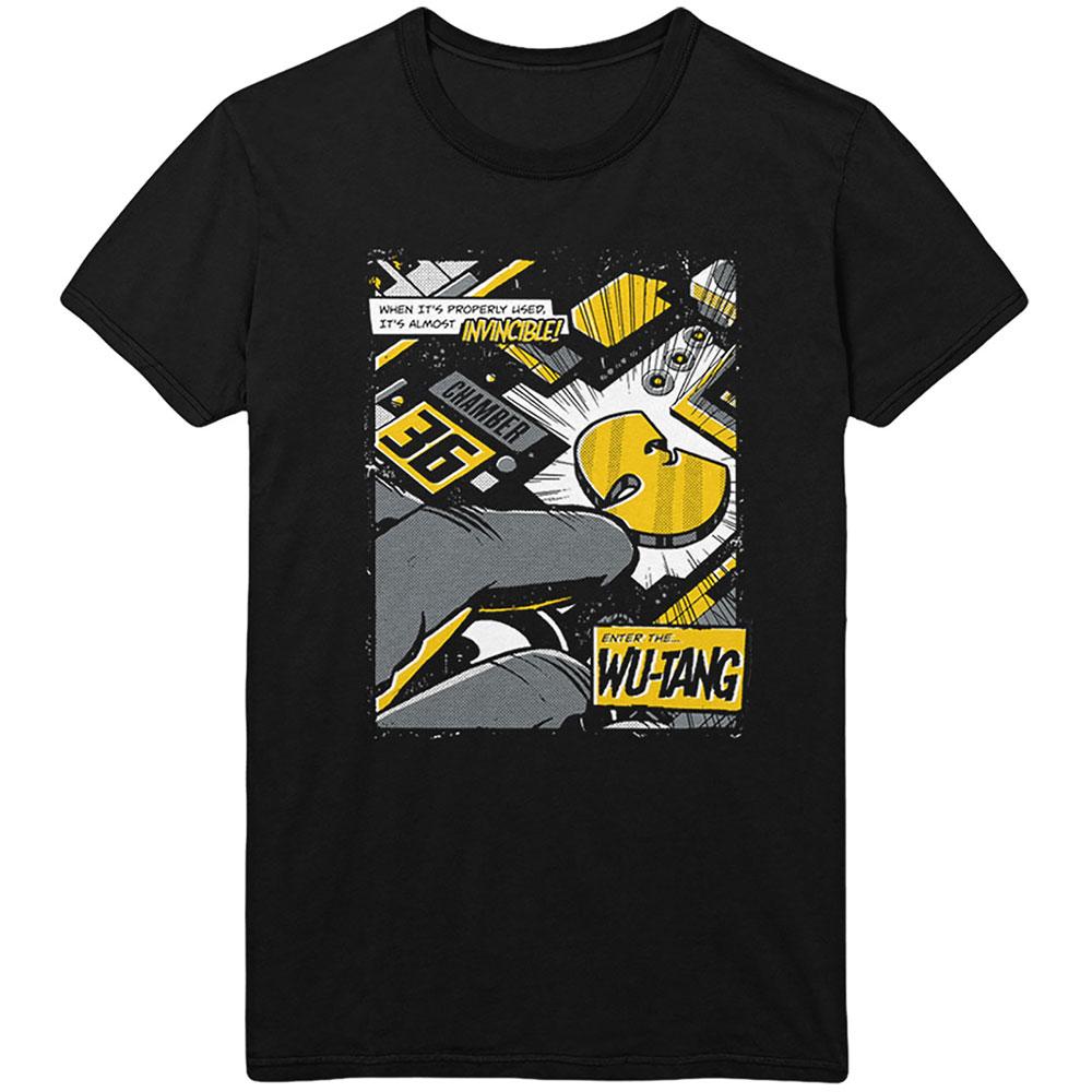 Wu-Tang Clan - Tričko Invincible - Muž, Unisex, Čierna, S