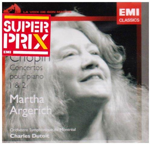 CD ARGERICH, MARTHA - PIANO CONCERTOS 1 & 2