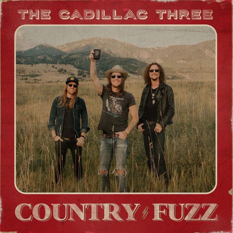 CD THE CADILLAC THREE - COUNTRY FUZZ