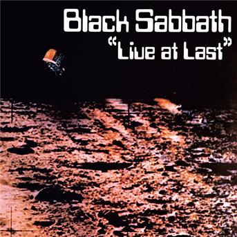 Black Sabbath - CD LIVE AT LAST
