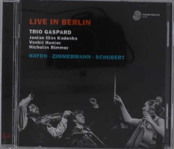 CD TRIO GASPARD - LIVE IN BERLIN