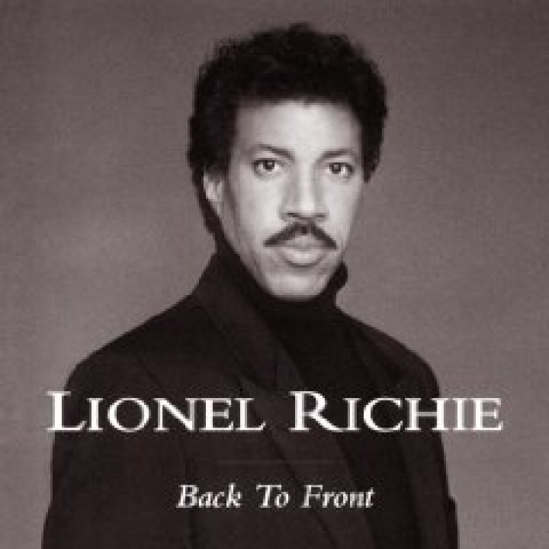 CD RICHIE LIONEL - BACK TO FRONT - BEST OF