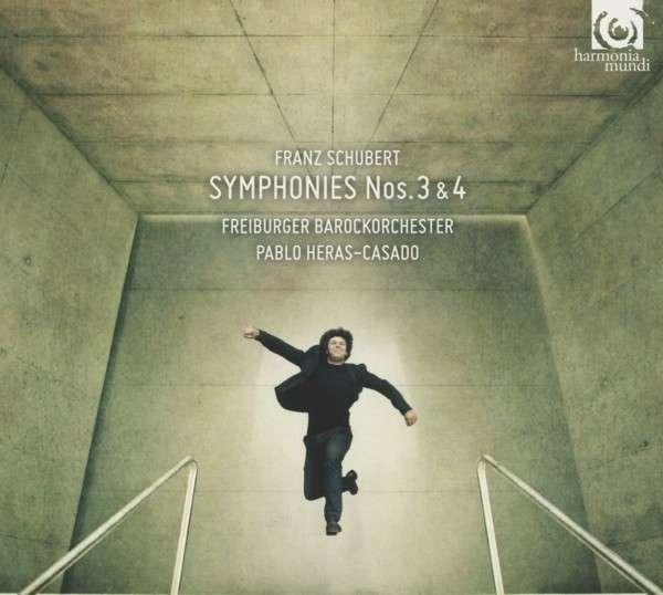 CD SCHUBERT, F. - SYMPHONIES NO.3 & 4