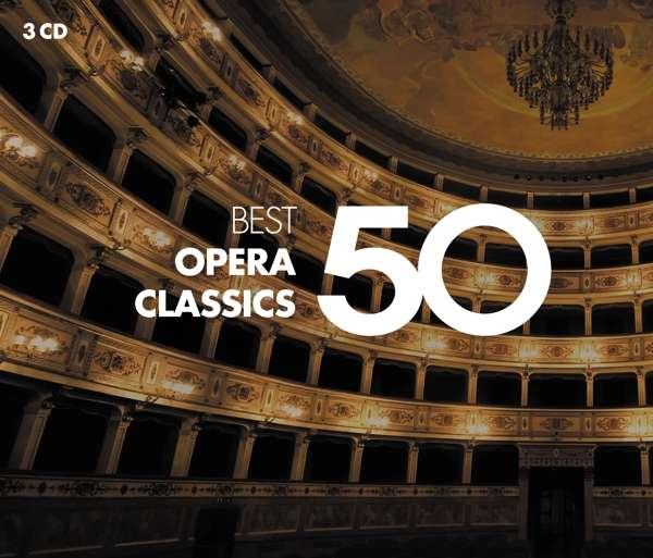 CD VARIOUS ARTISTS - 50 BEST OPERA