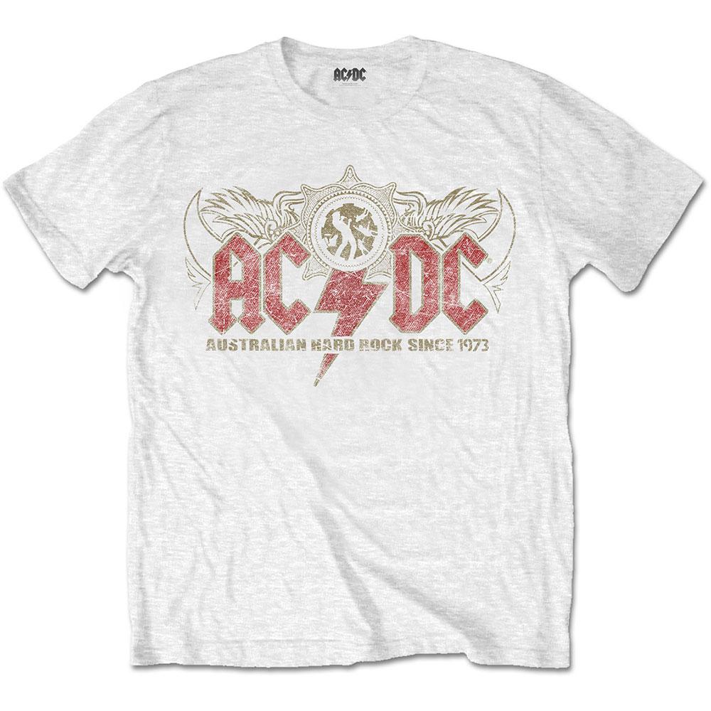 AC/DC - Tričko Oz Rock - Muž, Unisex, Biela, XL