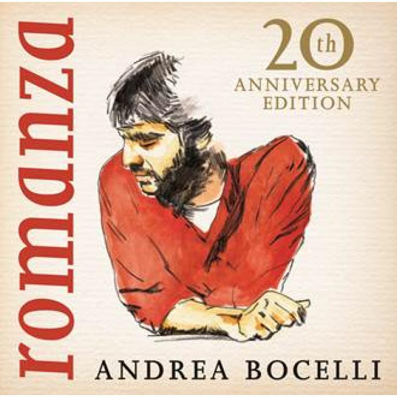 ANDREA BOCELLI - CD ROMANZA REMASTERED - 20TH