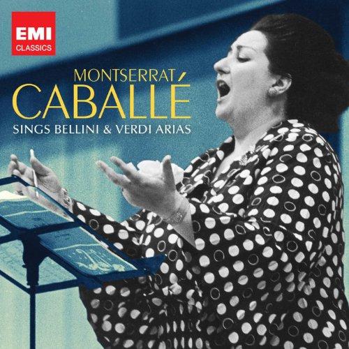 CD CABALLE, MONTSERRAT - MONSERAT CABALLE SINGS BELLINI & VERDI ARIAS