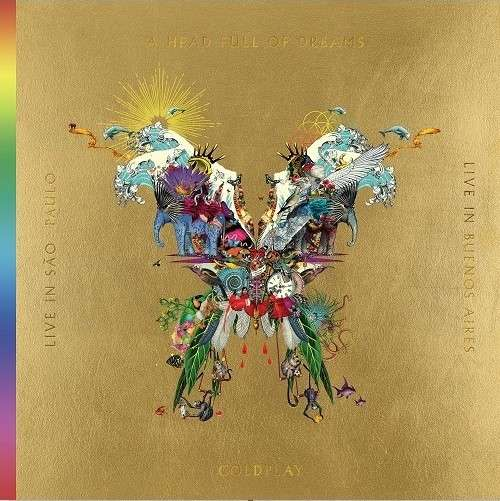 Coldplay - Vinyl LIVE IN BUENOS AIRES/LIVE IN SAO PAULO/A HEAD FULL OF DREAMS (3LP+2DVD)