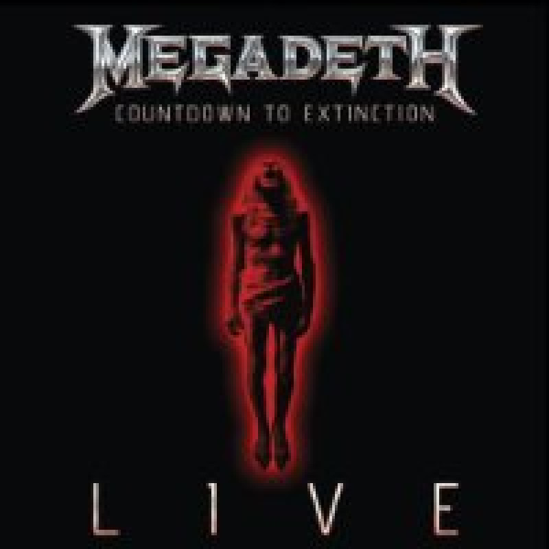 Megadeth - Blu-ray COUNTDOWN TO EXTINCTION