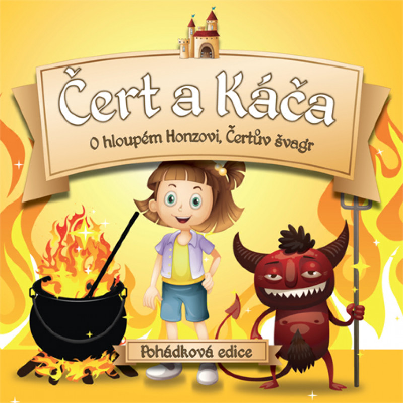 CD RUZNI/POHADKY - CERT A KACA