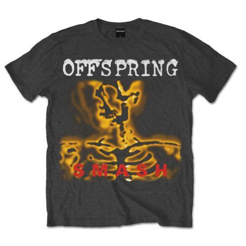 The Offspring - Tričko Smash 20 - Muž, Unisex, Šedá, S