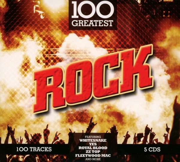 CD VARIOUS ARTISTS - 100 GREATEST ROCK