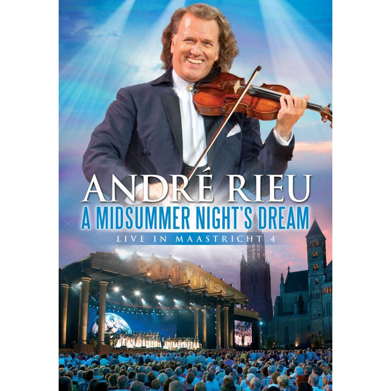 DVD RIEU ANDRE - A MIDSUMMER NIGHT'S DREAM