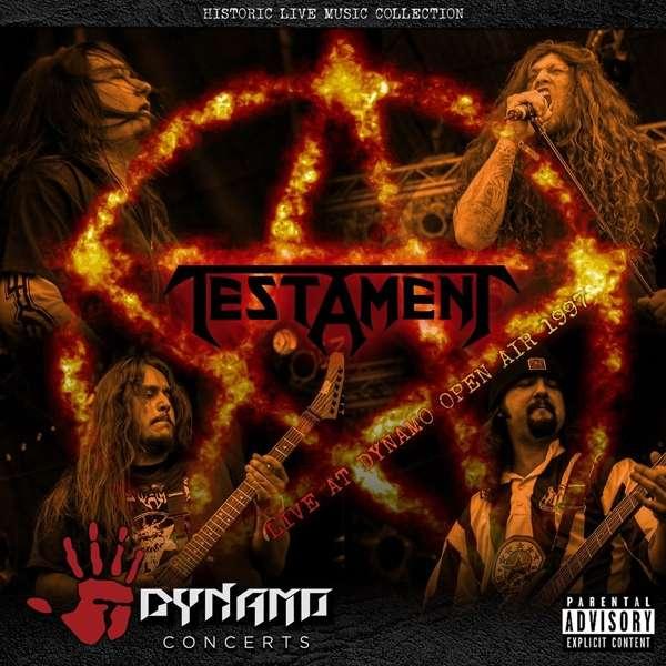 Testament - CD LIVE AT DYNAMO OPEN AIR 1997
