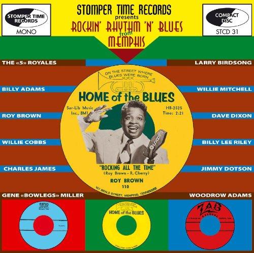 CD V/A - ROCKIN' RHYTHM 'N' BLUES FROM MEMPHIS