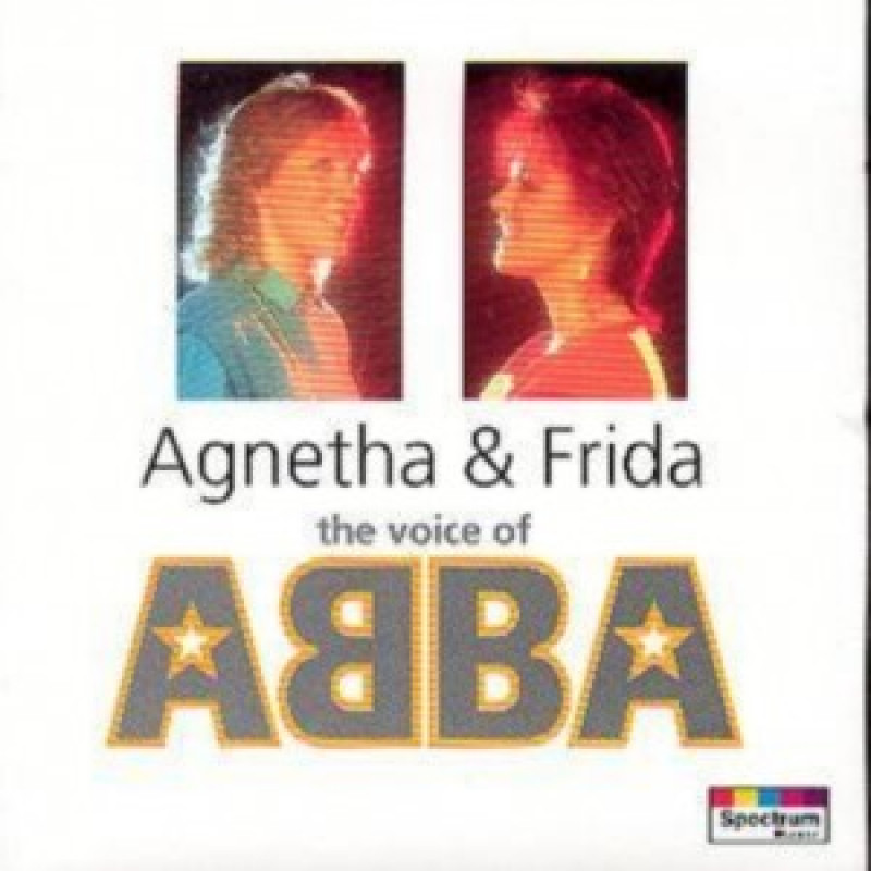 CD AGNETHA & FRIDA - THE VOICE OF ABBA