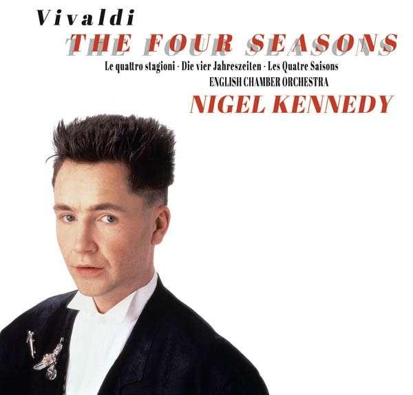 CD KENNEDY, NIGEL - VIVALDI: THE FOUR SEASONS - 25TH ANNIVERSARY EDITION (CD+DVD)