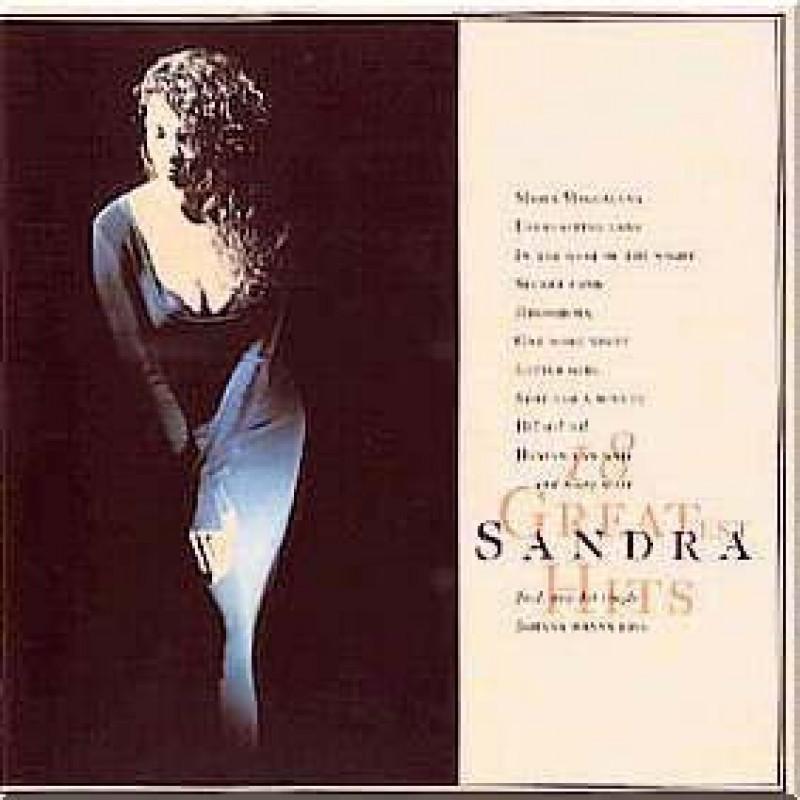 CD SANDRA - 18 GREATEST HITS