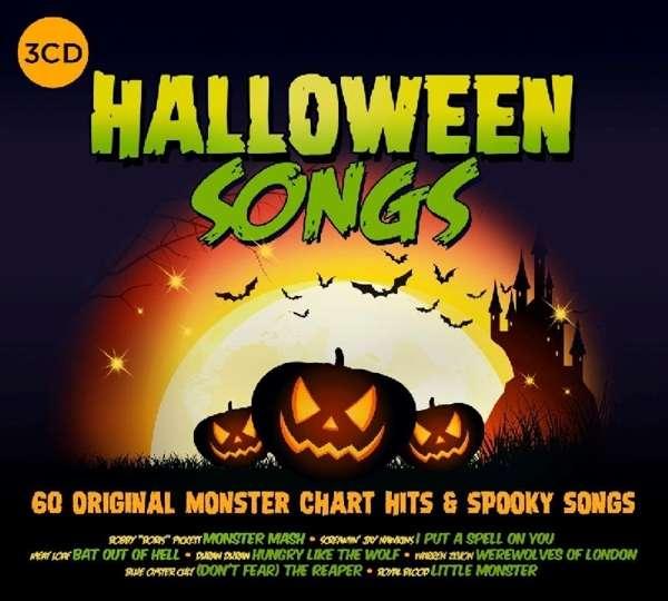 CD V/A - HALLOWEEN SONGS