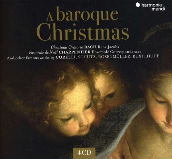 CD V/A - A BAROQUE CHRISTMAS