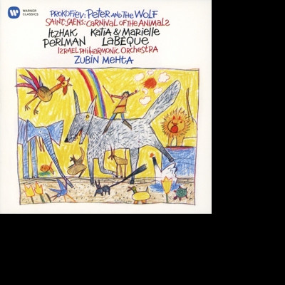 CD PERLMAN, ITZHAK/LABEQUE/ZUBIN MEHTA - SAINT-SAENS: CARNIVAL OF THE ANIMALS, PROKOFIEV: PETER AND THE WOLF (PERLMAN NARRATES)