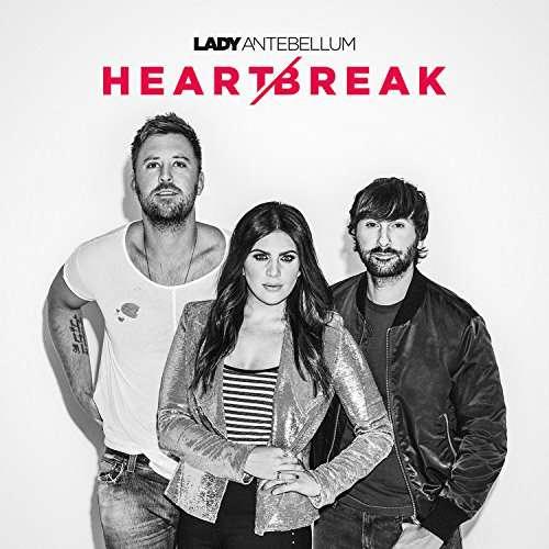 CD LADY ANTEBELLUM - HEART BREAK