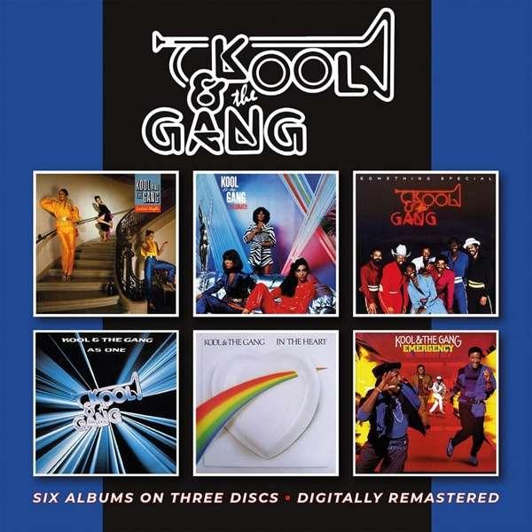 Kool & the Gang - CD Ladies' Night / Celebrate! / Something Special / As One / In The Heart / Emergency