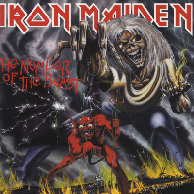 Iron Maiden - Vinyl THE NUMBER OF THE BEAST - LIMITED