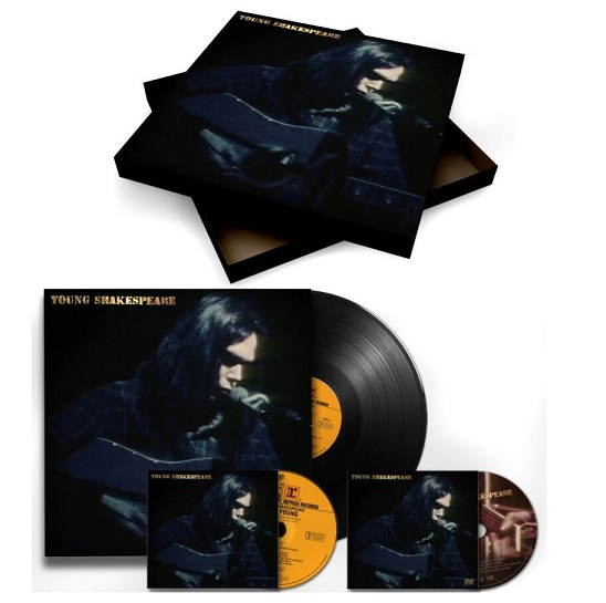 Vinyl YOUNG, NEIL - YOUNG SHAKESPEARE (LP+CD+DVD)