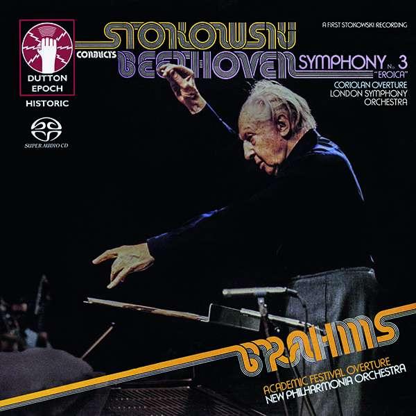 "CD STOKOWSKI, LEOPOLD - BEETHOVEN: SYMPHONY NO. 3 ""EROICA""/CORIOLAN OVERTURE & BONUS WORK - BRAHMS: ACADEMIC FESTIVAL OVERTURE"