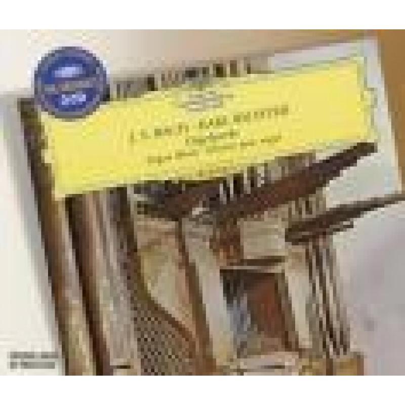 CD RICHTER KARL - J.S.Bach: Skladby pro varhany