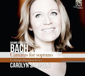 CD BACH, J.S. - CANTATAS FOR SOPRANO