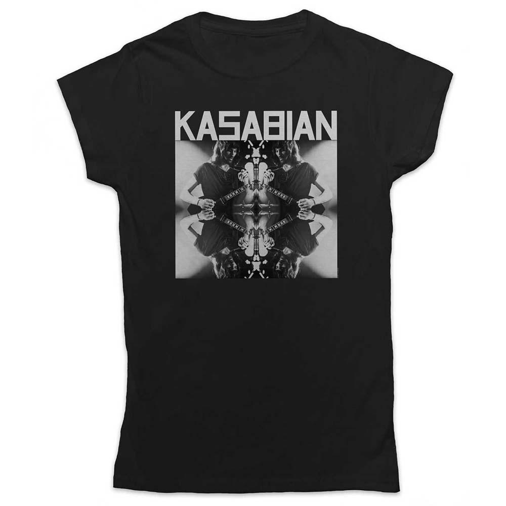 Kasabian - Tričko Solo Reflect - Žena, Čierna, S