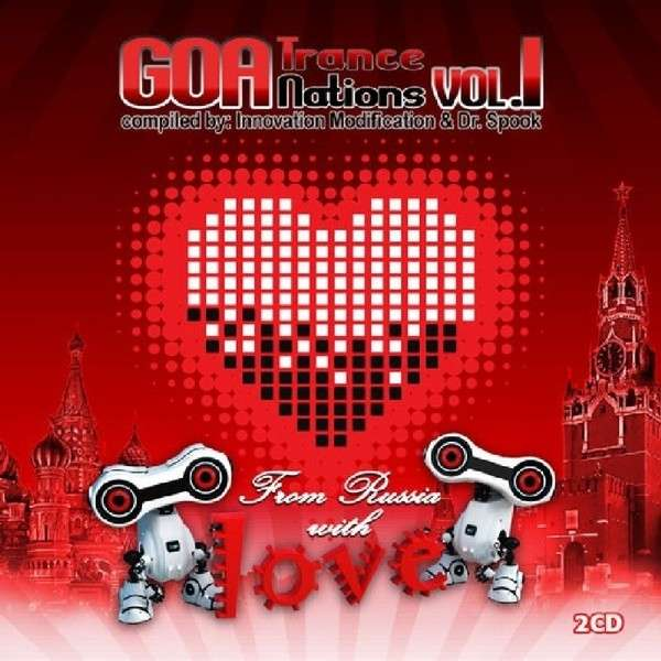 CD V/A - GOA TRANCE NATIONS 1