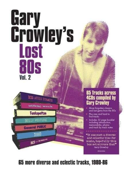 CD V/A - GARY CROWLEY - LOST 80S 2