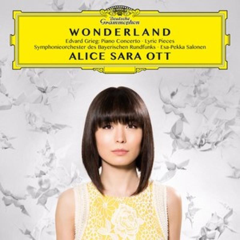 CD OTT ALICE SARA - GRIEG:Wonderland-Koncert pro klavir/Lyric Pieces