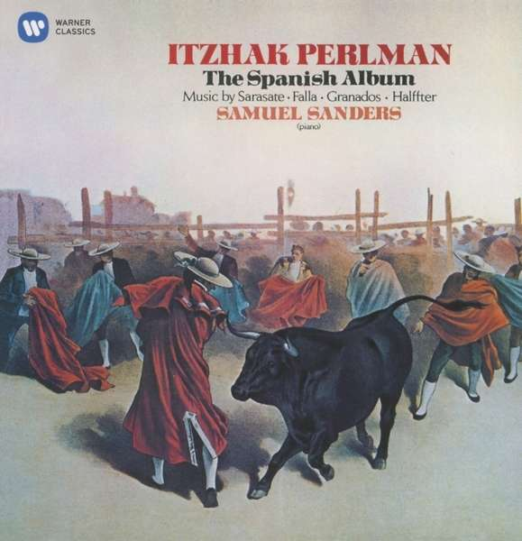 CD PERLMAN/SANDERS - THE SPANISH ALBUM