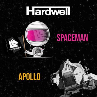Vinyl HARDWELL - 7-APOLLO/SPACEMAN