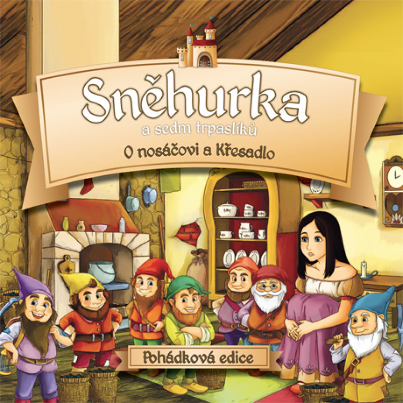 CD RUZNI/POHADKY - SNEHURKA A SEDM TRPASLIKU