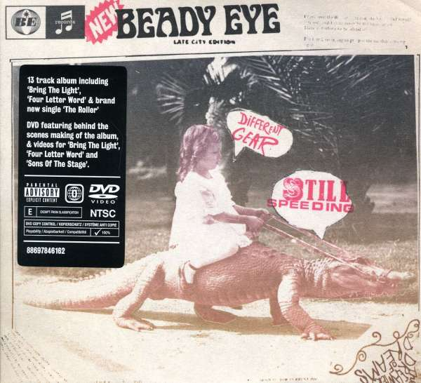 CD EYE, BEADY DIFFERENT GEAR, STILL SPEEDING DELUXE
