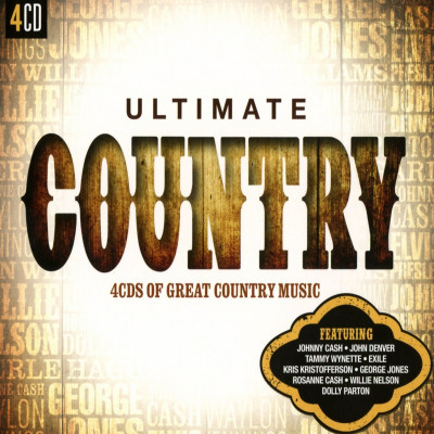 CD V/A - Ultimate... Country