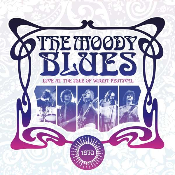Vinyl MOODY BLUES - LIVE AT THE ISLE OF WIGHT 1970