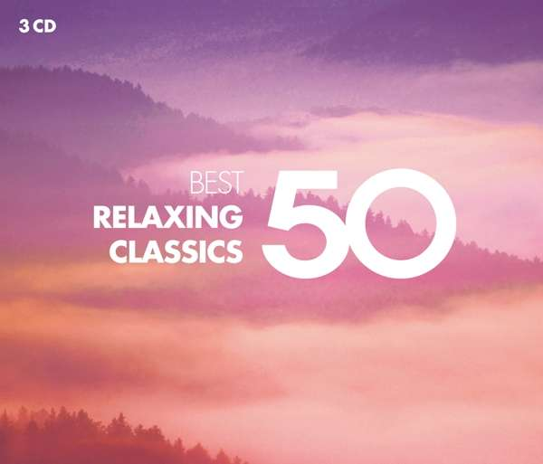 CD VARIOUS ARTISTS - 50 BEST RELAXING CLASSICS