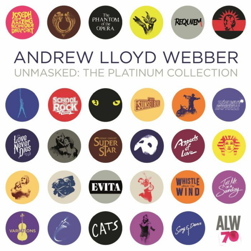 CD WEBBER ANDREW LLOYD - THE PLATINUM COLLECTION