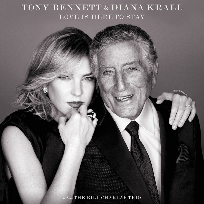 CD TONY BENNETT/DIANA KRALL - LOVE IS HERE TO STAY