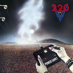 CD TWO HUNDRED TWENTY VOLT - POWER GAMES