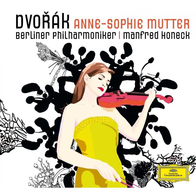 CD MUTTER ANNE SOPHIE - DVOŘÁK: KONC. PRO HOUSLE / ROMANCE