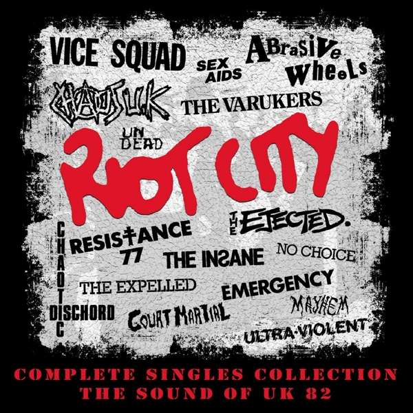 CD V/A - RIOT CITY - COMPLETE SINGLES COLLECTION