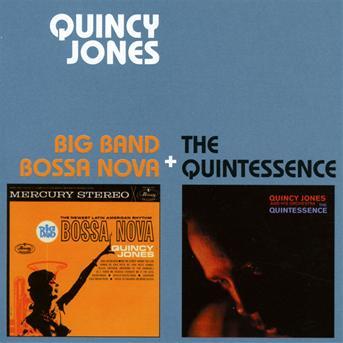 CD JONES, QUINCY - BIG BAND BOSSA + QUINTESSENCE