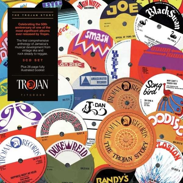 CD VARIOUS ARTISTS - THE TROJAN STORY